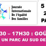 Journée Internationale pour l'égalité des Familles – le 5 mai à Paris, 15h30