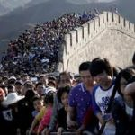En route pour la grande muraille de Chine