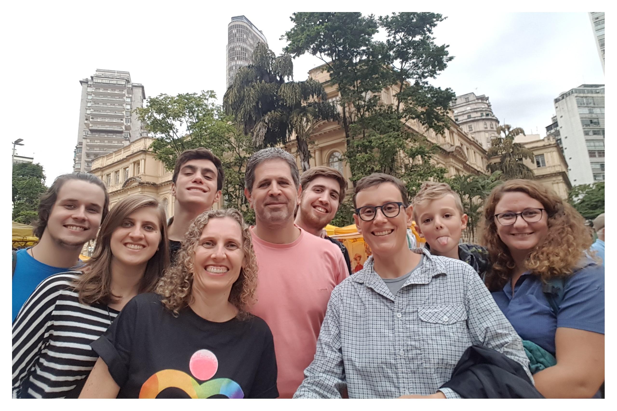 Le vice-président de Toulouse Nocturne était à Sao Paulo afin de rencontre.